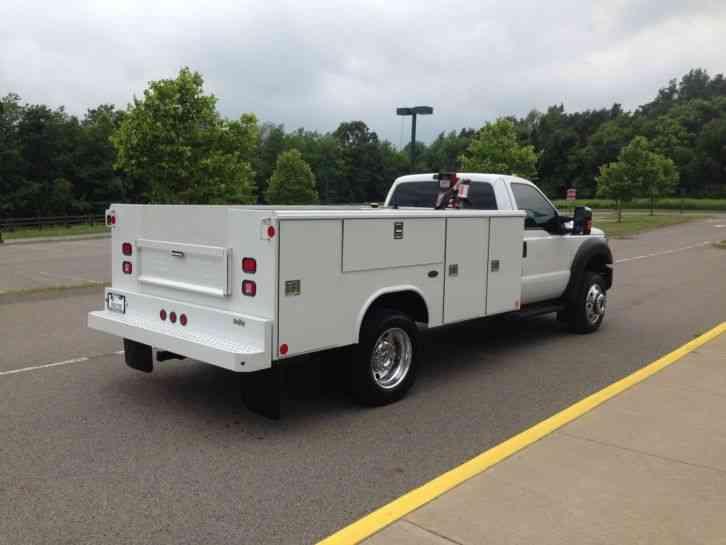 Ford F450 2014 Utility Service Trucks