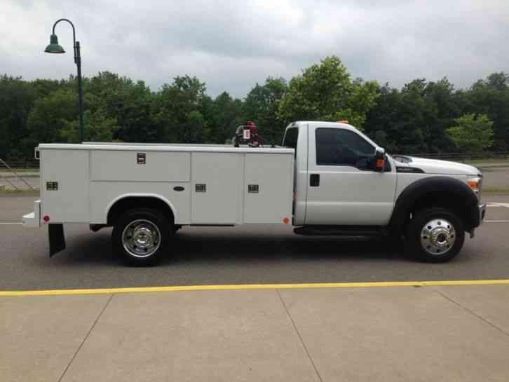 Reading Utility Body >> Ford F450 (2014) : Utility / Service Trucks