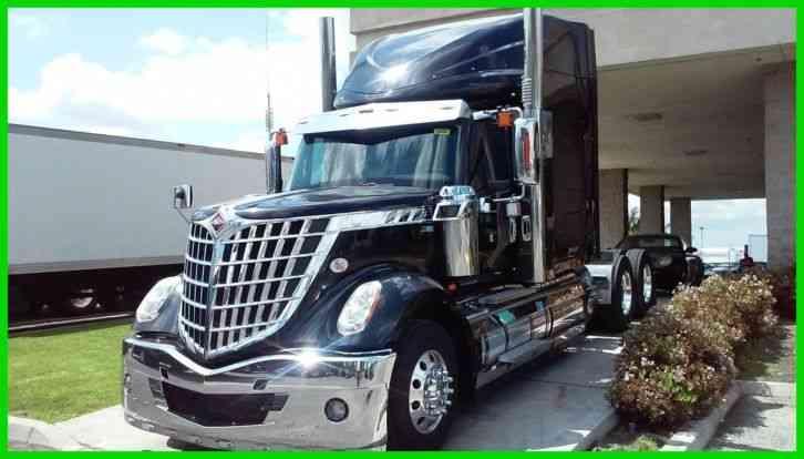 international lonestar sfa 6x4 2014 sleeper semi trucks. Black Bedroom Furniture Sets. Home Design Ideas