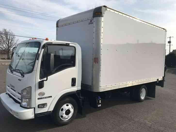 Isuzu Npr  2014    Van    Box Trucks