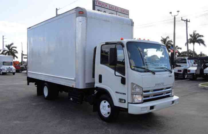 Isuzu NPR HD 16FT BOX & RAIL LIFTGATE 14, 500 GVWR (2014)