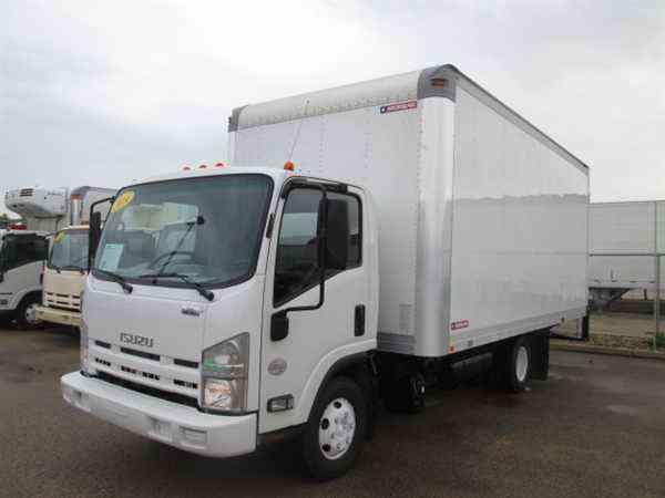 Isuzu Npr Hd 2014 Van Box Trucks