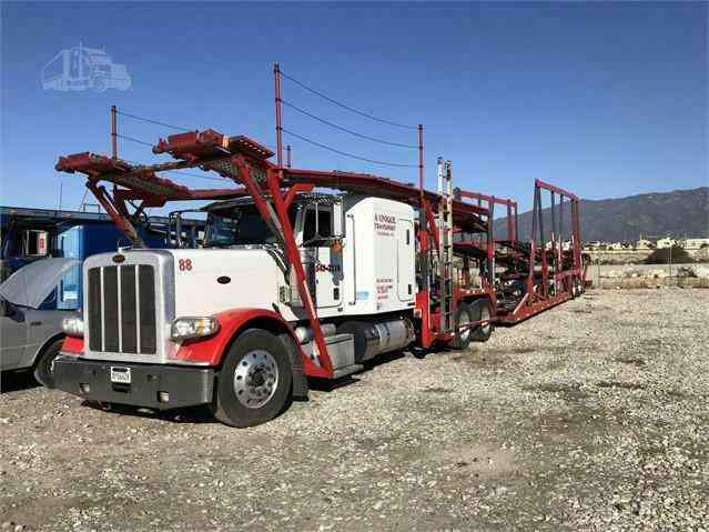 Peterbilt 388 Car Carrier Truck (2014)