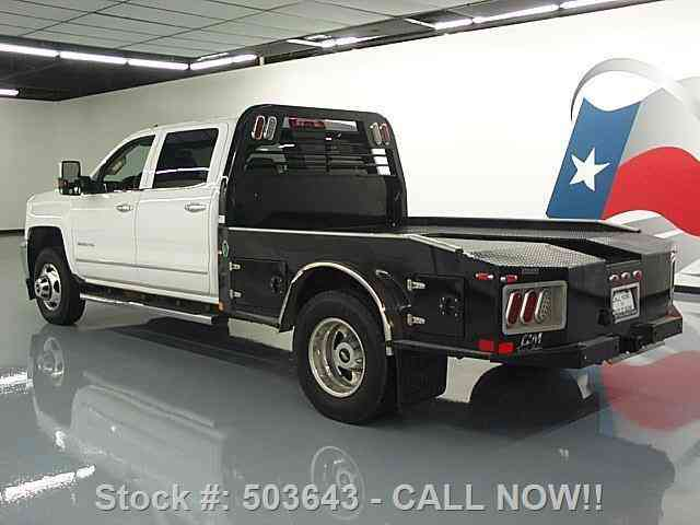 Chevy Silverado Hd Ltz X Diesel Flatbed K Texas Direct on Chevy Duramax Diesel Engine