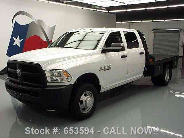 dodge ram 3500 hd tradesman crew diesel flatbed 2015 commercial pickups. Black Bedroom Furniture Sets. Home Design Ideas