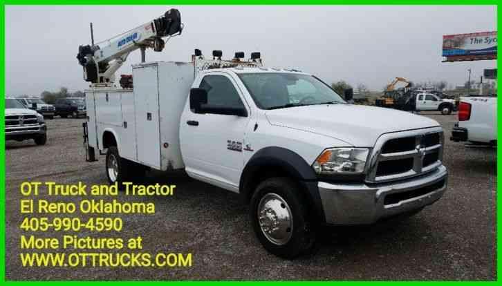 Dodge 4500 2015 Utility Service Trucks