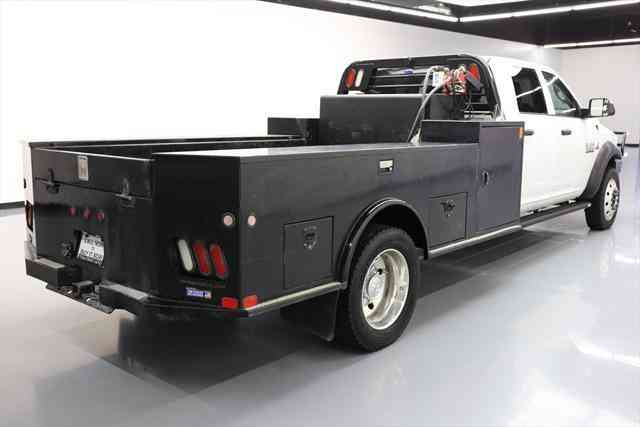dodge ram 5500 diesel dually flatbed 4x4 auto  2015    commercial pickups