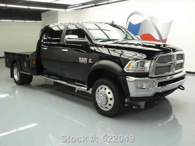 Utility Trucks For Sale >> Dodge Ram 5500 LARAMIE 4X4 DIESEL FLATBED NAV (2015) : Commercial Pickups
