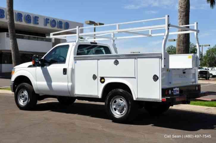 Ford F 350 2015 Utility Service Trucks