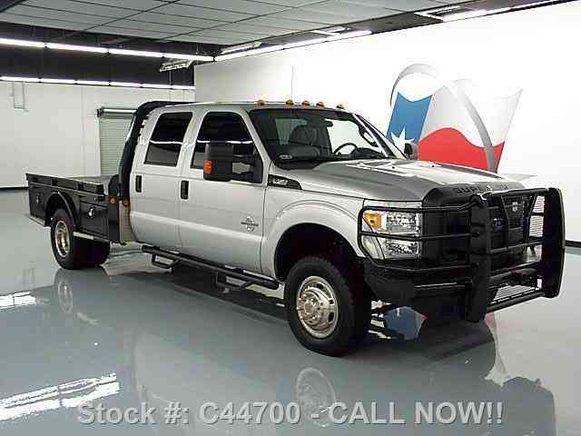 4X4 Van For Sale >> Ford F-350 CREW 4X4 DIESEL DUALLY FLATBED (2015