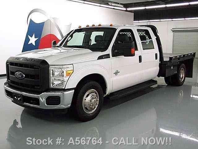 Ford F-350 CREW DIESEL DRW FLAT BED 6-PASS (2015)