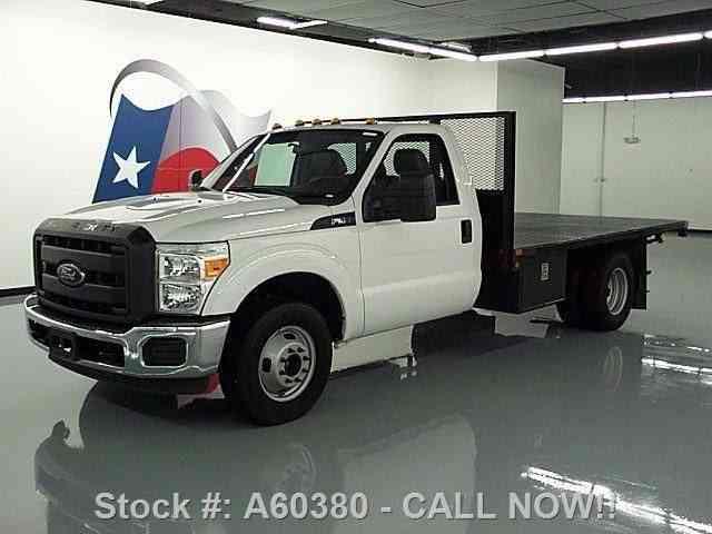 ford f 350 reg cab dually flat bed automatic 2015 commercial pickups