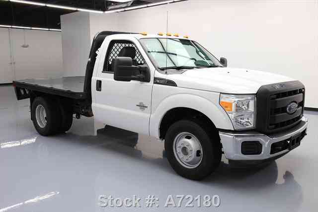 Flatbed Trucks For Sale >> Ford F-350 REGULAR CAB DIESEL DUALLY FLATBED (2015) : Commercial Pickups