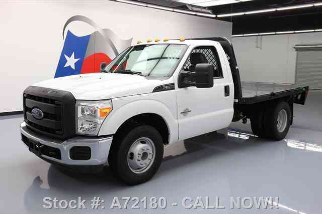 ford f 350 regular cab diesel dually flatbed 2015 commercial pickups
