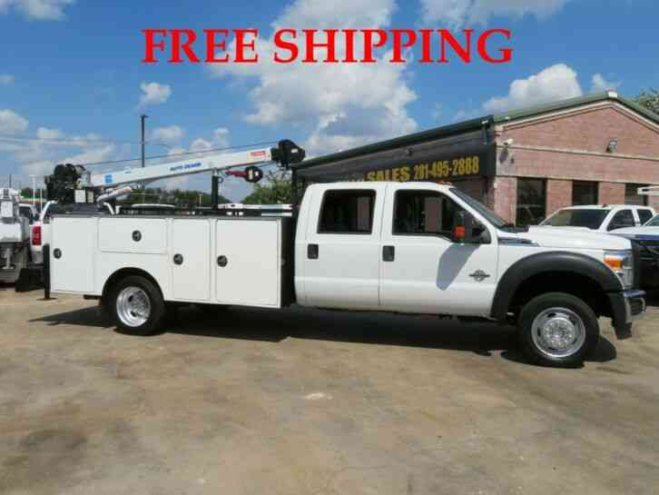 FORD F-550 XLT 4WD SUPER DUTY (2015)