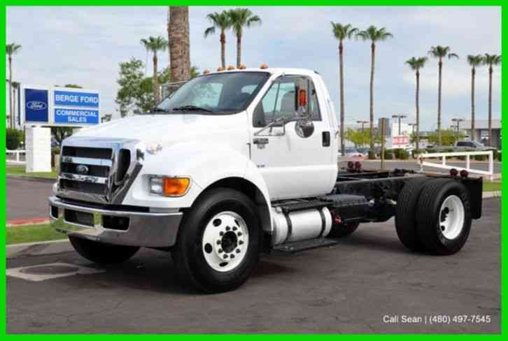 Ford F 650 Cab Chassis 2015 Medium Trucks