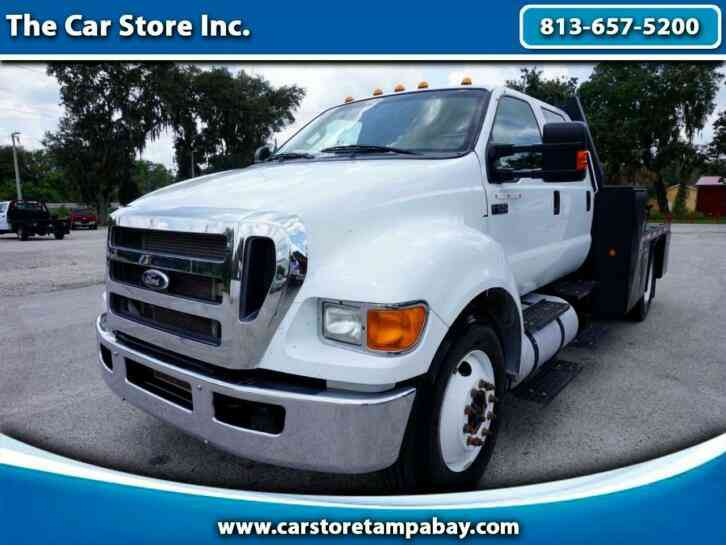 Ford F-650 Crew Cab Hauler Flated (2015)