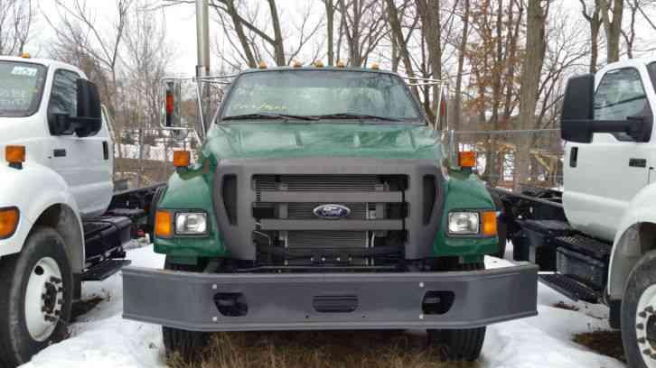 Ford F 750 Super Duty 2015 Medium Trucks