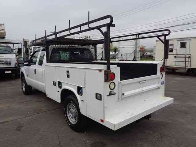ford f250 4x4 extended service utility truck diesel 2015 utility service trucks. Black Bedroom Furniture Sets. Home Design Ideas
