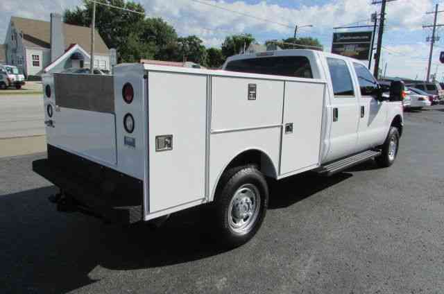 Ford F250 Crew Cab 4x4 new Utility bed (2015) : Utility ...