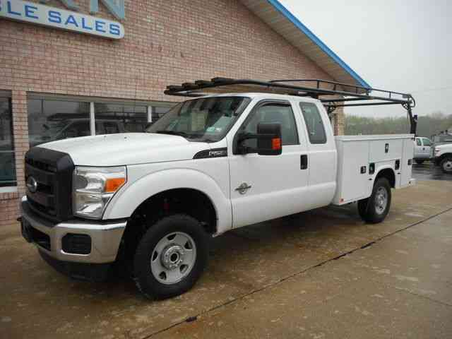 ford service truck 2015