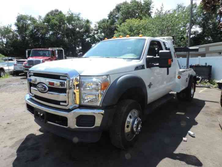Ford FORD F450 6. 7 POWERSTROKE DIESEL WRECKER TOW (2015)