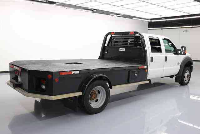 ford f 450 crew 4x4 diesel dually flatbed tow 2015 commercial pickups. Black Bedroom Furniture Sets. Home Design Ideas
