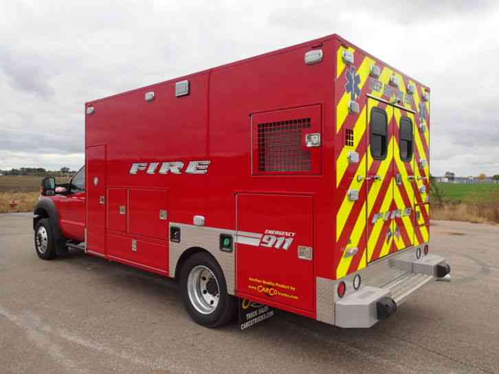 Ford F450 2015 Emergency Amp Fire Trucks
