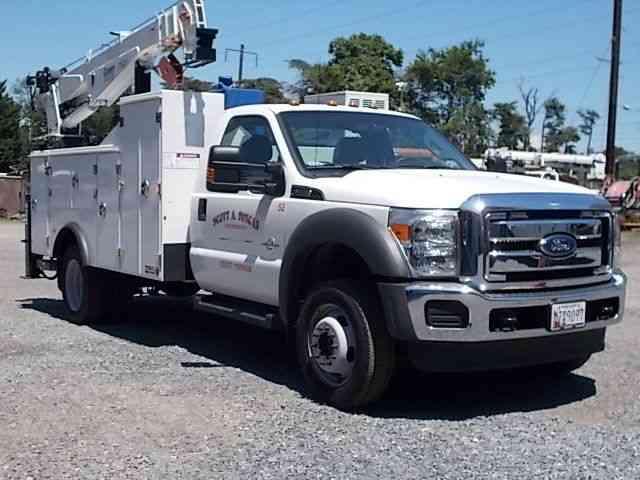 Ford F 550 Xl 2015 Utility Service Trucks