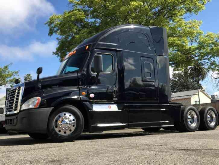 2015 Freightliner Cascadia >> Freightliner Cascadia 125 Evolution 2015 Sleeper Semi