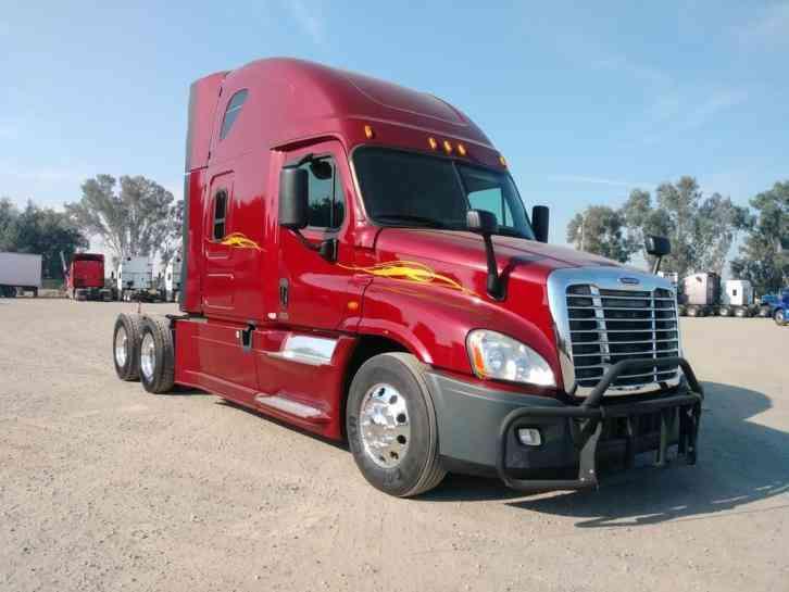 2015 Freightliner Cascadia >> Freightliner Cascadia 2015 Sleeper Semi Trucks