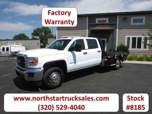 GMC 3500HD Flat Bed Truck -- (2015)