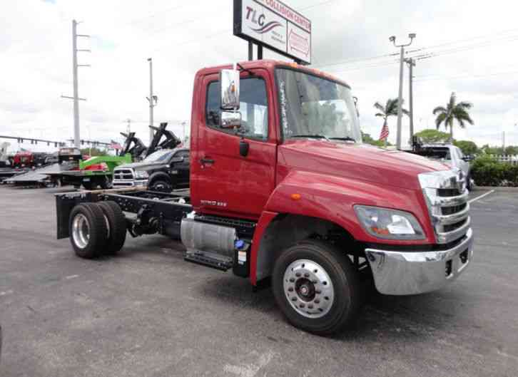 HINO 258ALP CAB & CHASSIS AIR BRAKES. AIR RIDE. ALUM WHEELS 84 (2015)