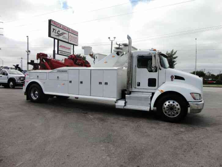 Kenworth T370 25TON JERRDAN HEAVY DUTY WRECKER (2015)