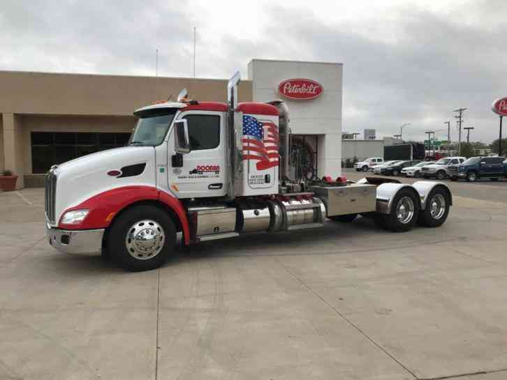 1965 White 4000 Semi Tractor : Peterbilt  sleeper semi trucks