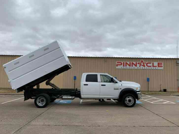 RAM 4X4 CREW CAB DUMP BED 5500 CHIPPER DUMP BED (2015)