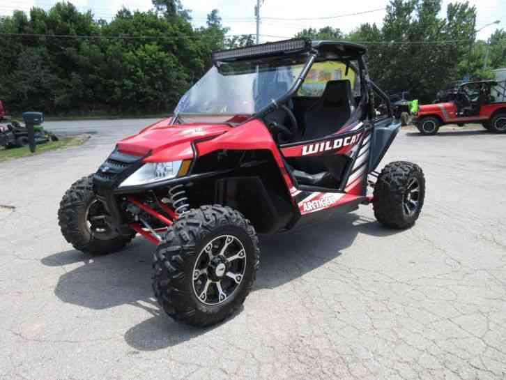 Arctic Cat Wildcat X -- (2016)