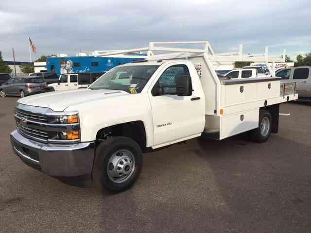 Chevrolet Silverado 3500hd Work Truck 2016 Utility