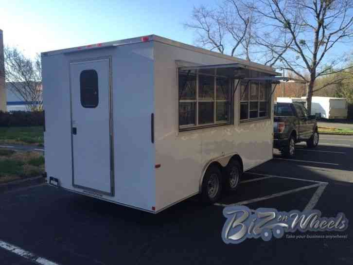 Concession Trailer 16ft Long 8 5ft Wide 7ft High 2016