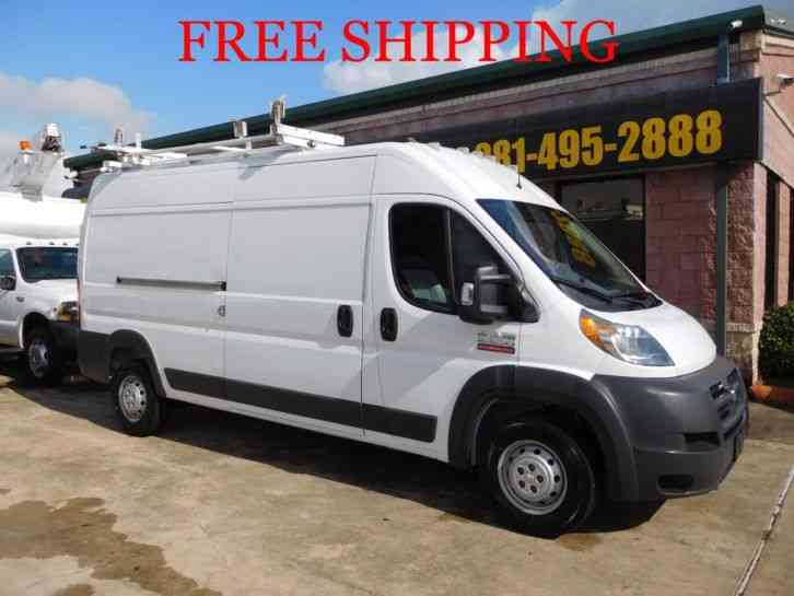 dodge ram 2500 promaster high roof 2016 van box trucks. Black Bedroom Furniture Sets. Home Design Ideas