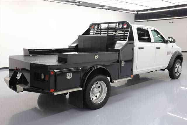 Dodge Ram Crew Diesel Drw X Flat Bed K Mi Texas Direct