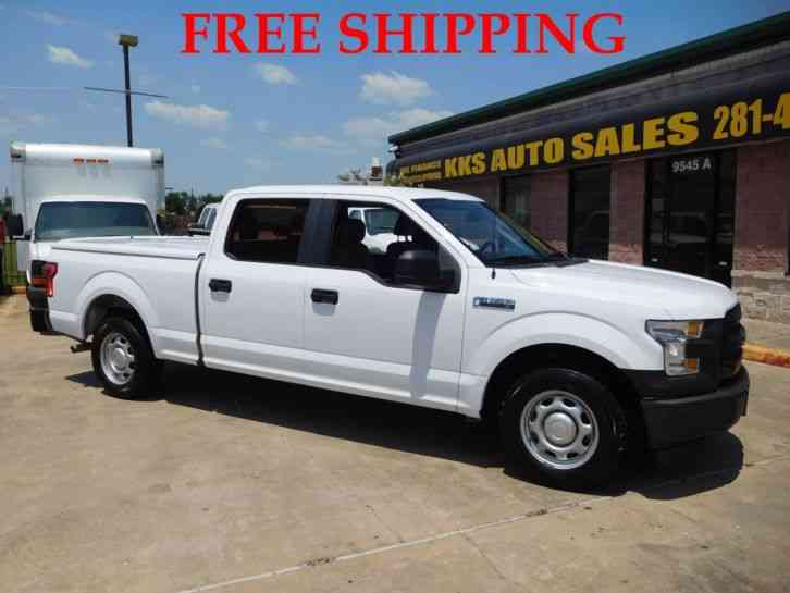 FORD F-150 XL 2WD PICKUP TRUCK CREW CAB 6. 5 FT BED 5. 0L (2016)