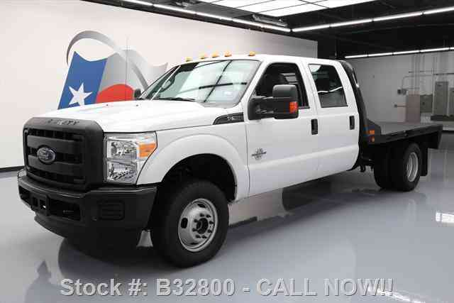 ford f 350 xl crew 4x4 diesel dually flatbed 2016 commercial pickups. Black Bedroom Furniture Sets. Home Design Ideas