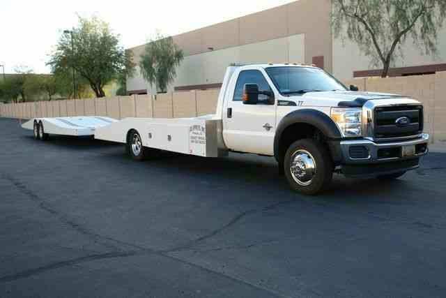 Ford F-550 Hodges Ramp Truck & Trailer XL (2016)