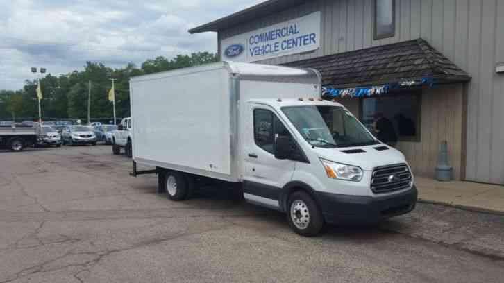 Ford Transit 350sd 2016 Van Box Trucks
