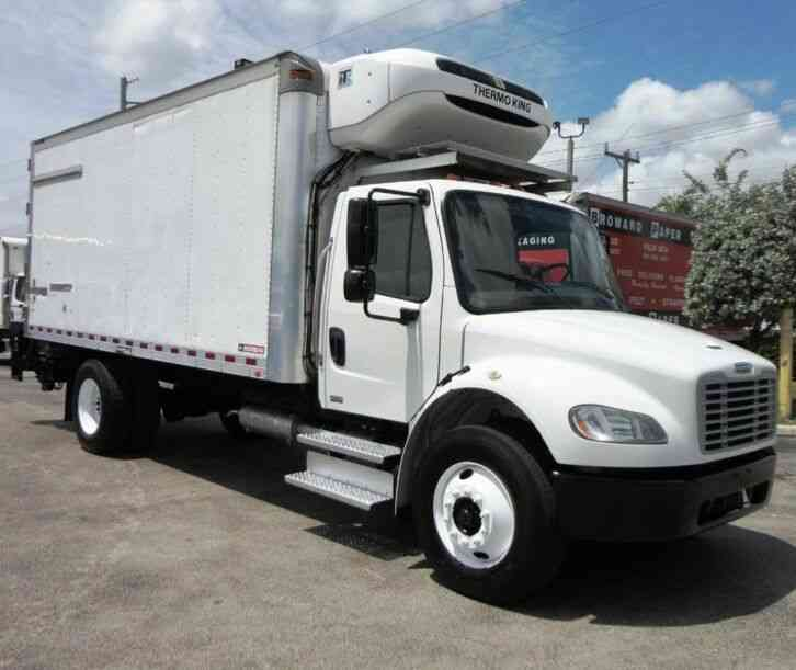 Freightliner BUSINESS CLASS M2 18FT REFRIGERATED BOX TRUCK. T-680S THERMO (2016)