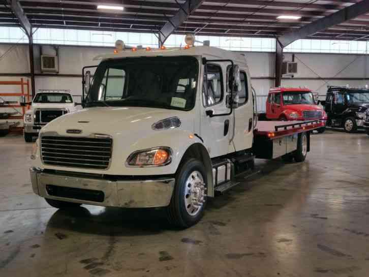 Freightliner M2 Crew Cab 2016 Flatbeds Amp Rollbacks
