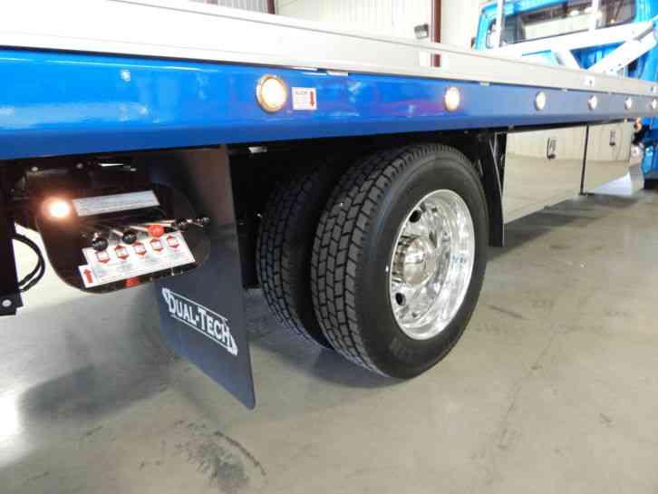 Freightliner M Dual Tech Lopro W Side Puller Rollback on Aluminum Fuel Tanks Diesel