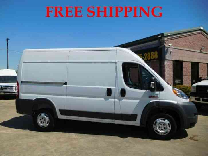 RAM 1500 PROMASTER HIGH ROOF TRADESMAN CARGO VAN LOW MILES 3. 6L GAS (2016)