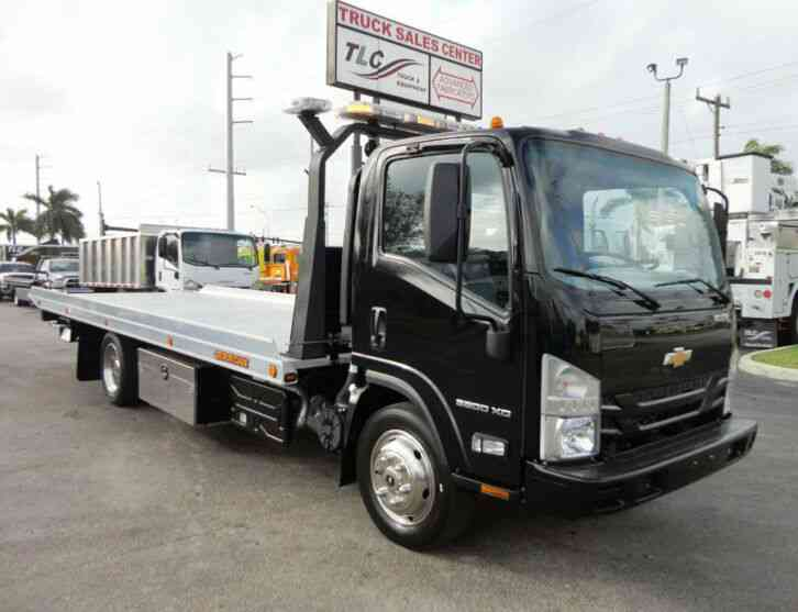 Chevrolet LOW CAB FORWARD 5500 XD 21FT XLP ROLLBACK TOW TRUCK JERRDAN CAR (2017)